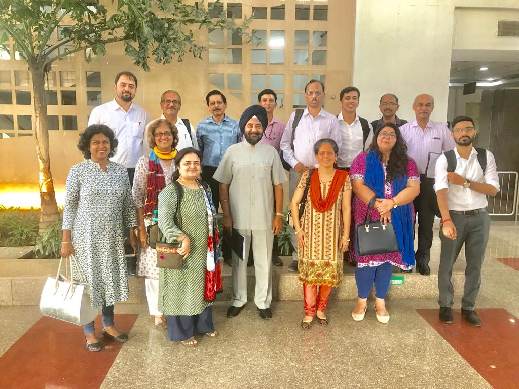 Meeting of ANAC members held at MOEF&CC canteen on 1st August 2019